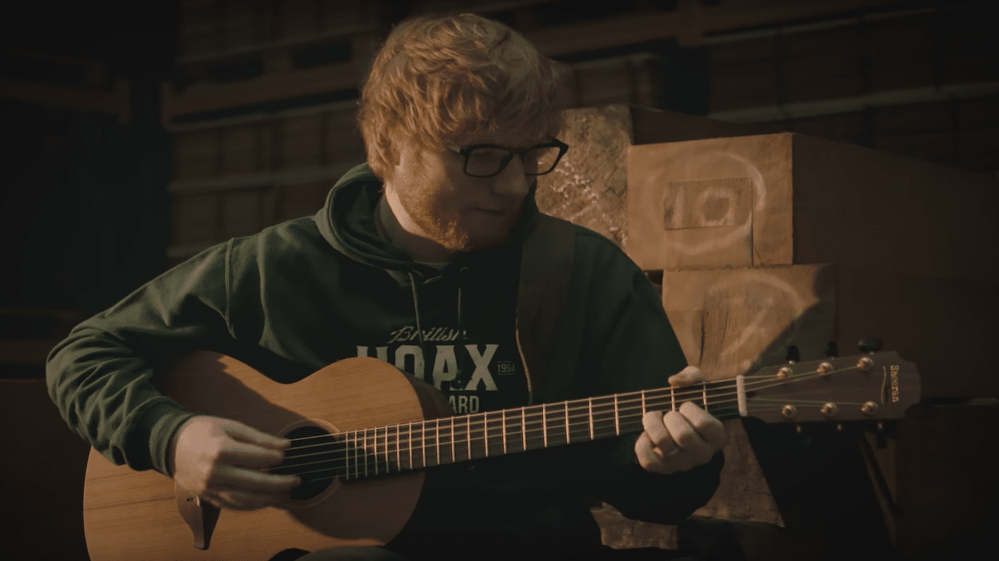 namm 2019 ed sheeran and lowden announce a signature guitar line. Black Bedroom Furniture Sets. Home Design Ideas