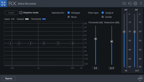 iZotope RX7 De-Noise