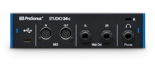 PreSonus Studio 24c Front