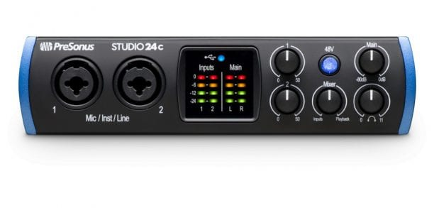 PreSonus Studio 24c Audio Interface