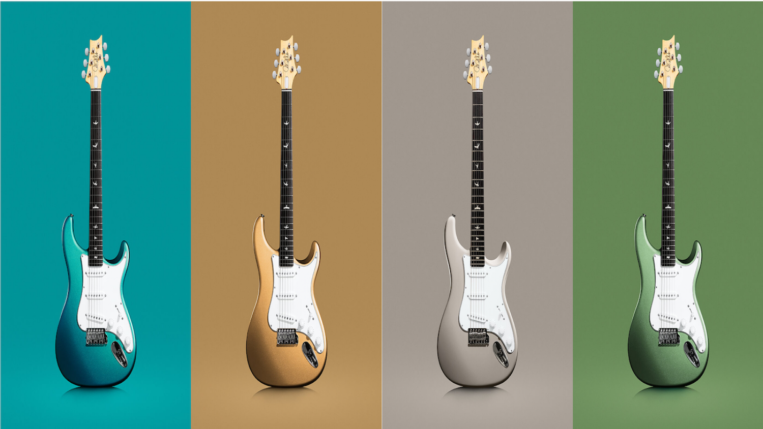 Prs Guitars Announces 4 New Colors For The John Mayer