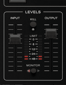 Eventide SP2016 Levels