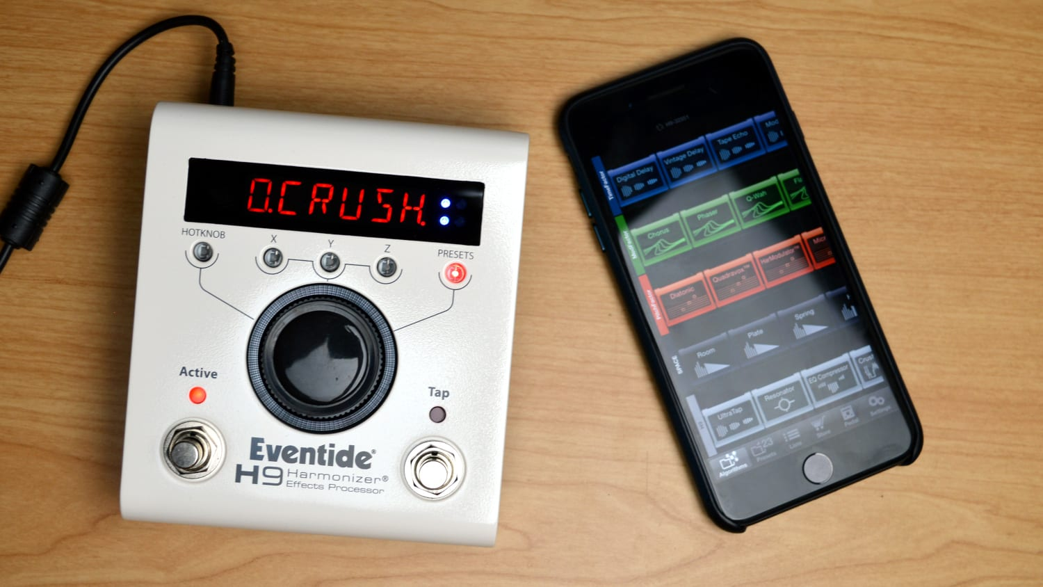 eventide h9 effects processor review all things gear. Black Bedroom Furniture Sets. Home Design Ideas