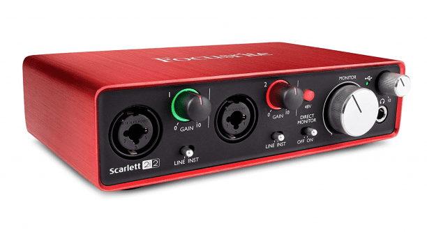 Scarlett 2i2 Interface