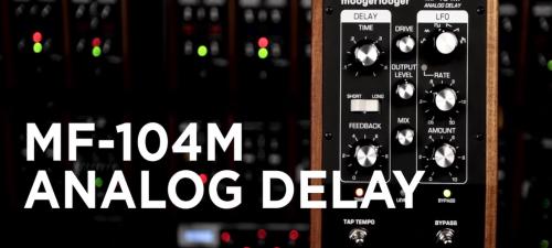 Moog MF-104M Delay Pedal