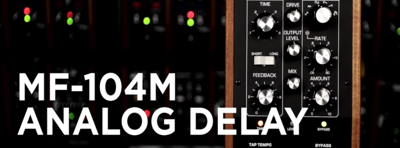 Moog MF-104M Delay Pedal