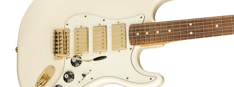 Fender Blacktop Mahogany Stratocaster