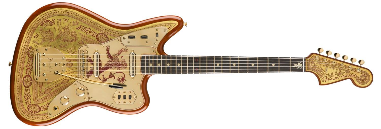 Fender Game of Thrones House Targaryen Stratocaster