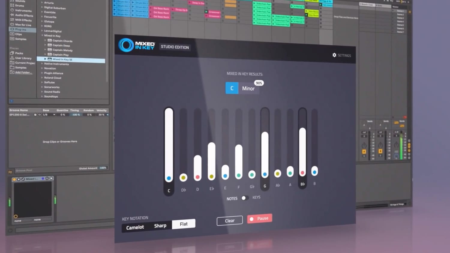 Mixed in Key Studio Edition Can Analyze a Session and Tell You it's Key
