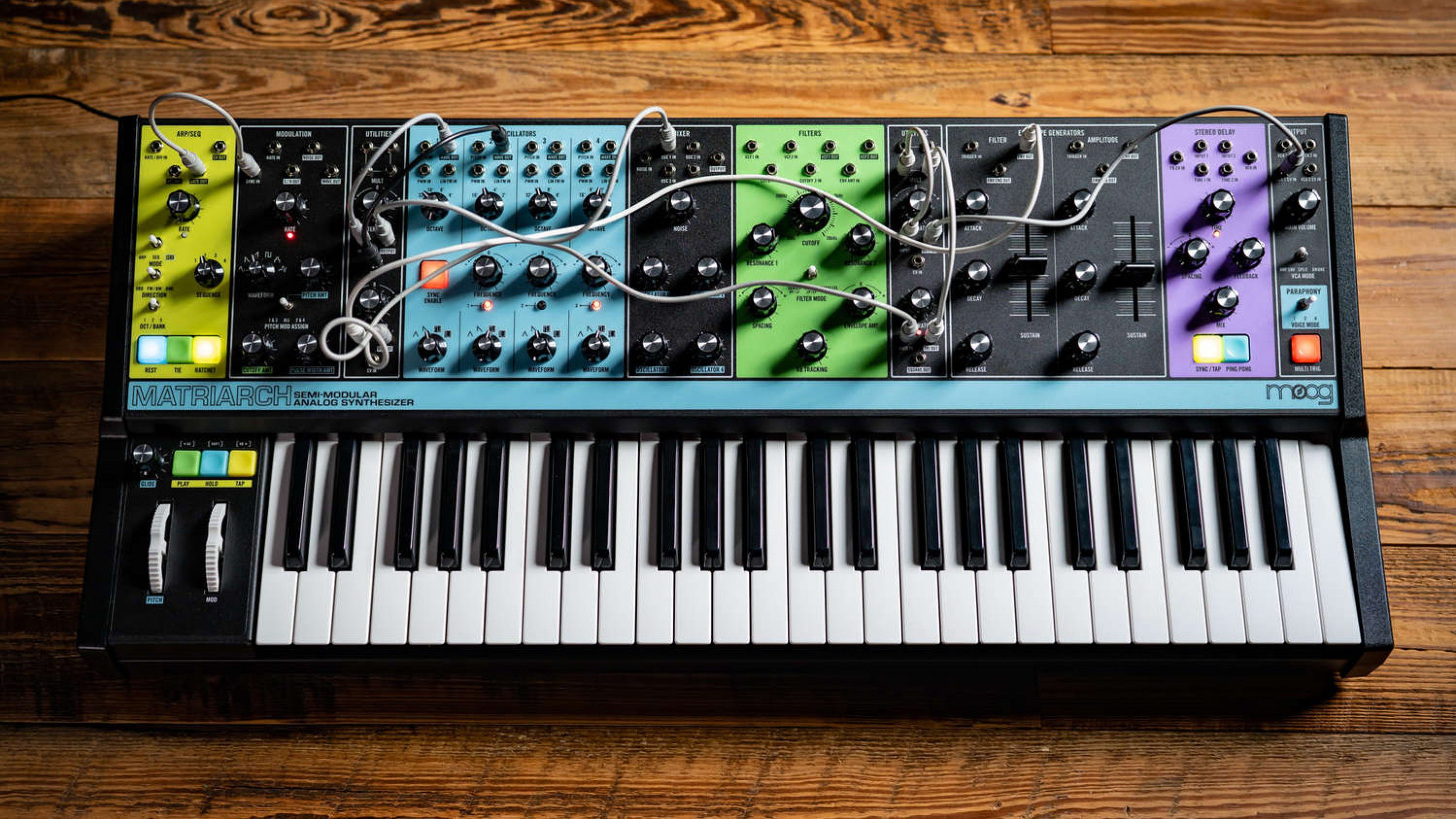Moog Completes the Family Portrait with the New Moog Matriarch