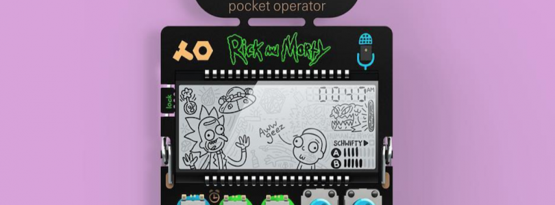 Teenage Engineering Rick and Morty Pocket Operator
