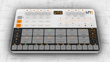 The IK Multimedia UNO Drum Machine is a powerful new drum machine for the masses