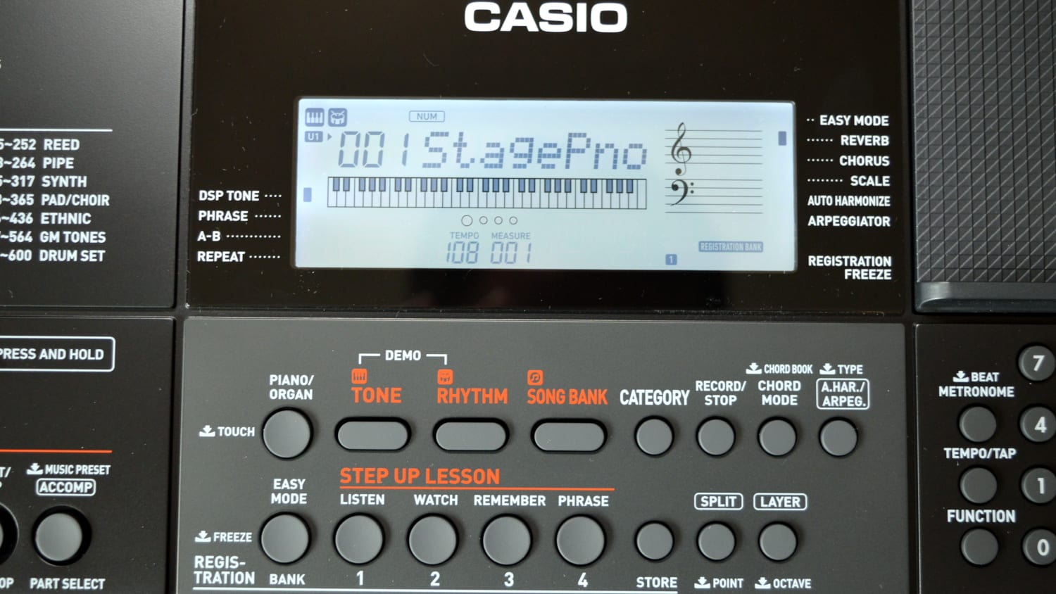 Casio CT-X700 Features