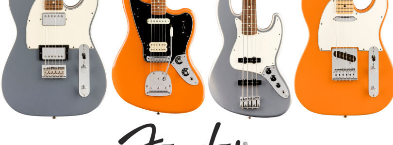 The Fender Player series is now offered in two stunning new finishes