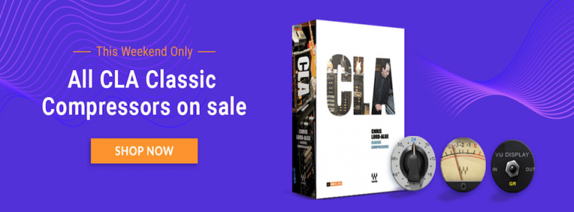 Waves CLA Compressors Weekend Sale