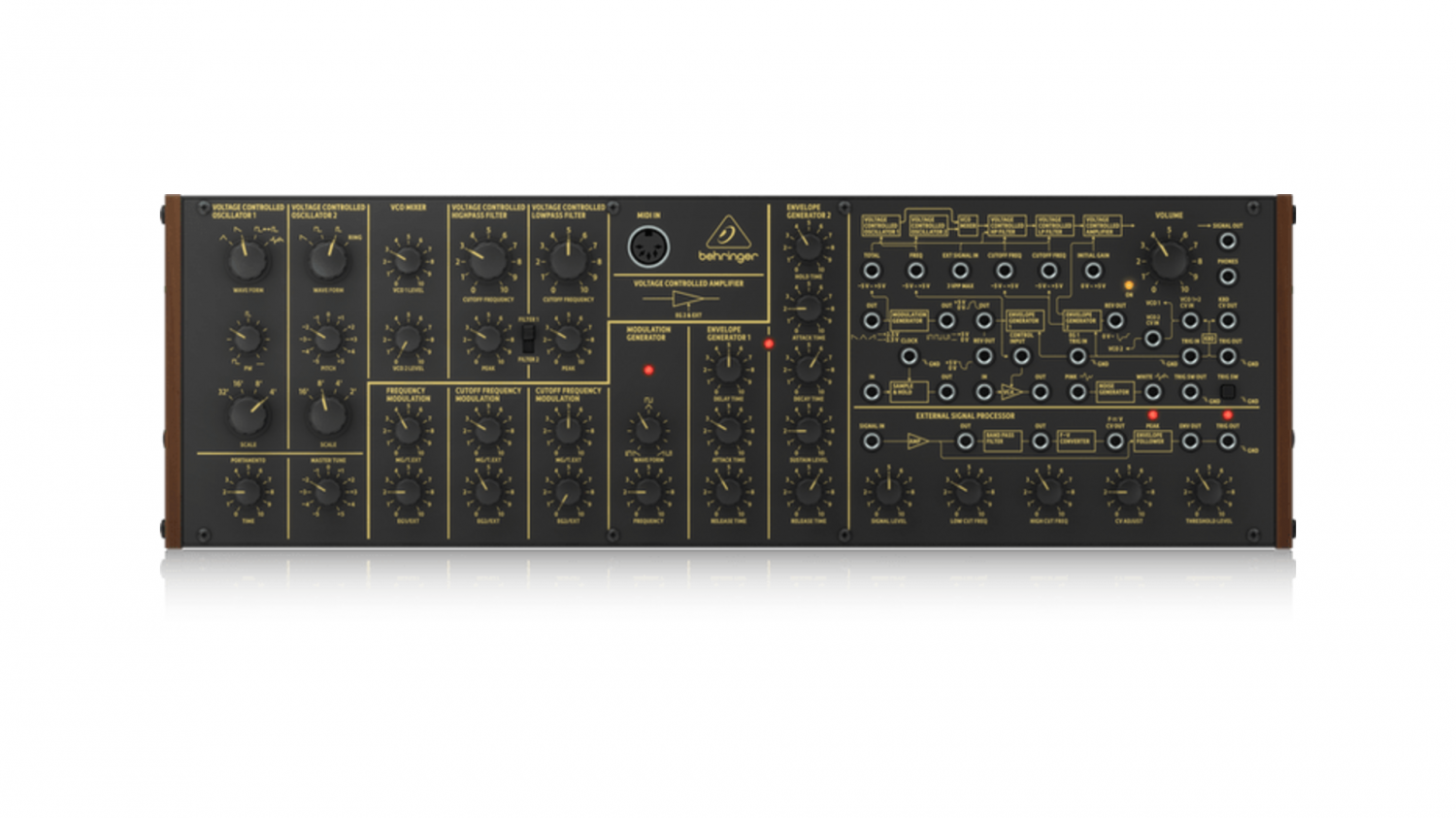 Updates on the Behringer K-2 could be indicative of a superior clone