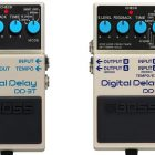 Boss DD-8 and DD-3T Delay Pedals
