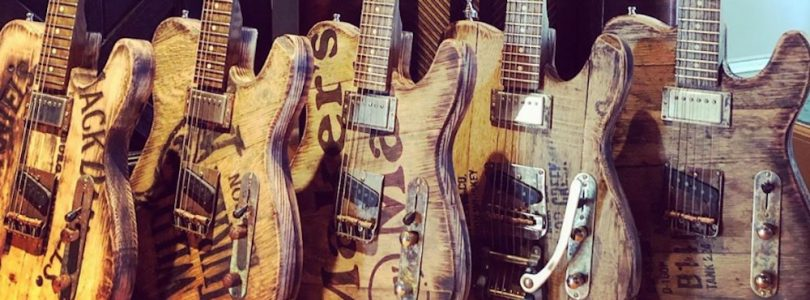 Big D Guitars Whiskey Barrel Telecasters