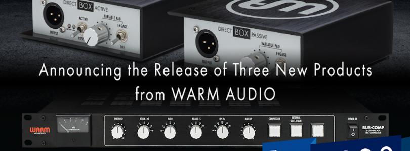 Warm Audio DI Boxes & Bus Comp
