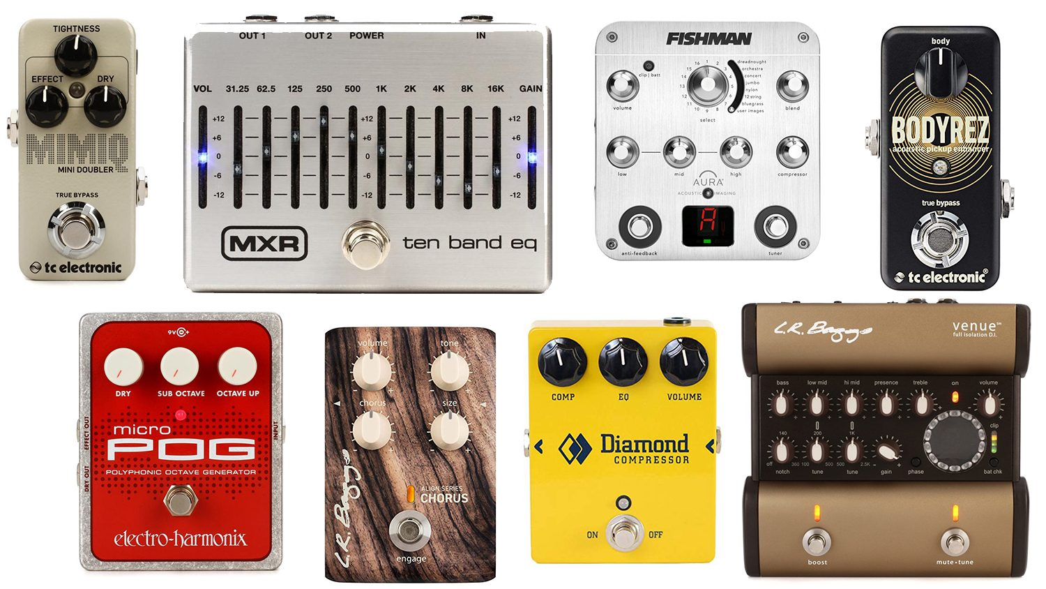 best acoustic guitar effects