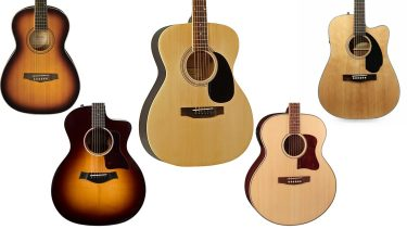 acoustic guitar body shapes