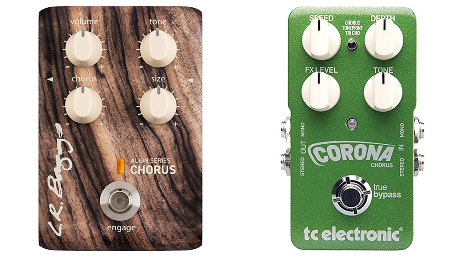 best chorus pedals for acoustic guitar