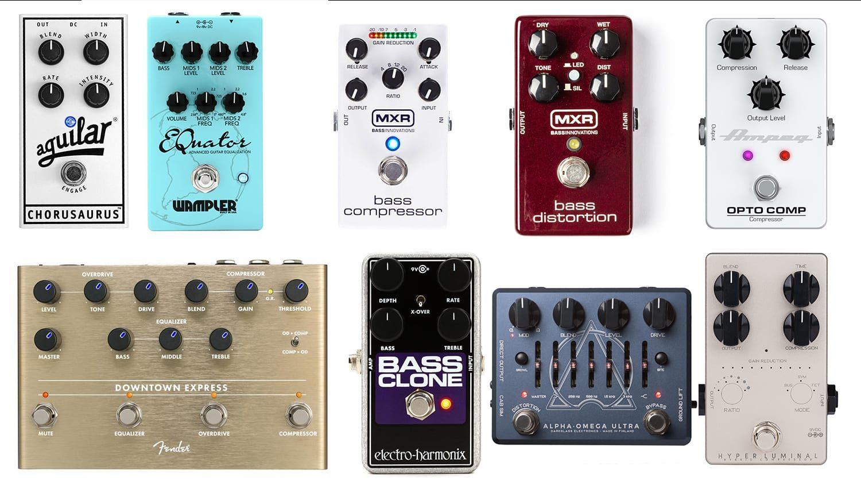 best effects pedals for bass guitar