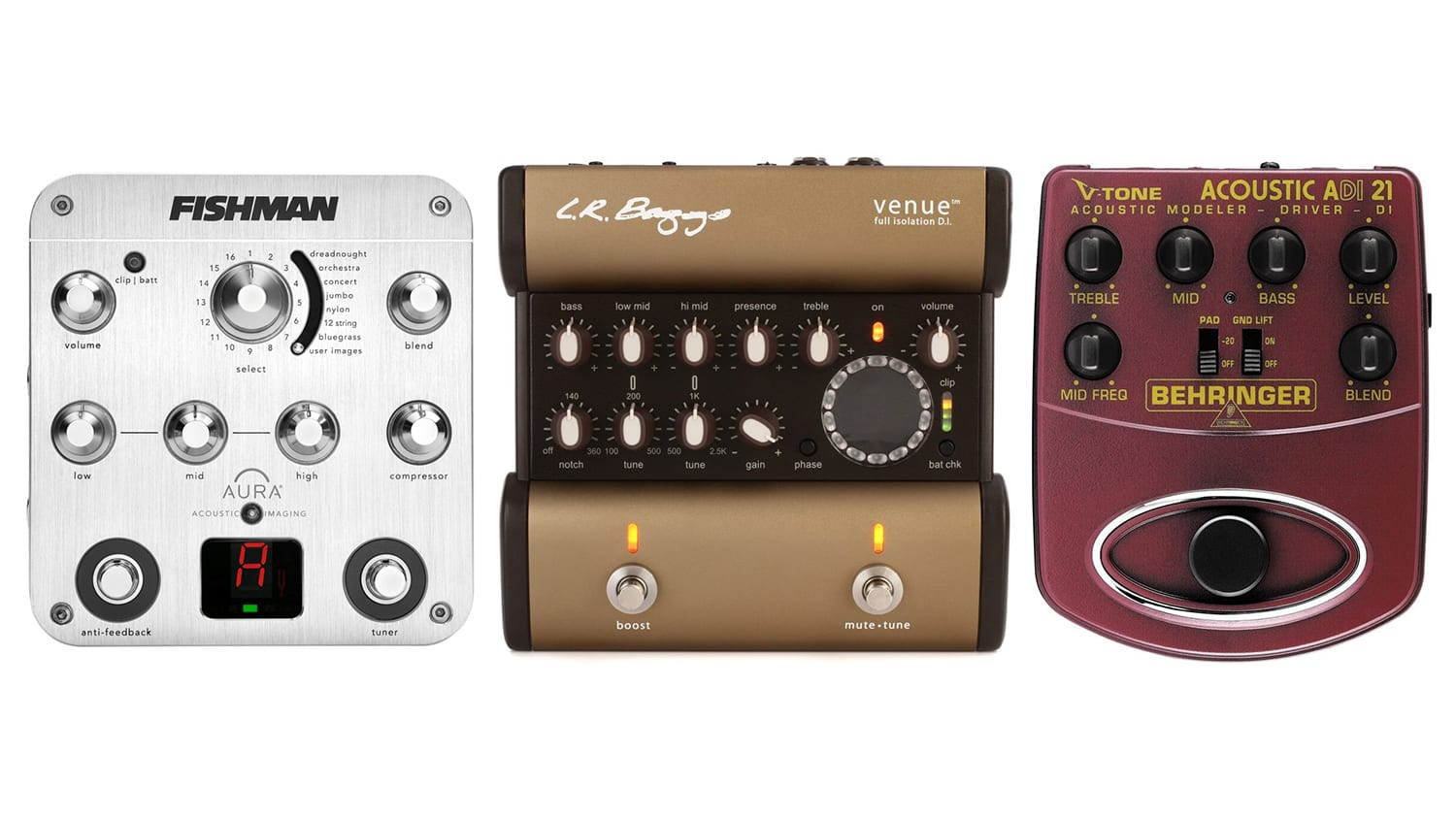 best preamp pedals for acoustic guitar