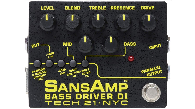 tech 21 sansamp bass driver