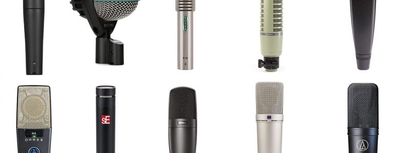 The Top 10 microphones you need for your studio