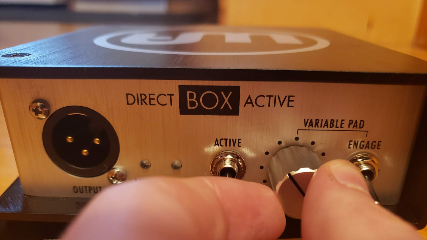 Warm Audio DI Box Knob