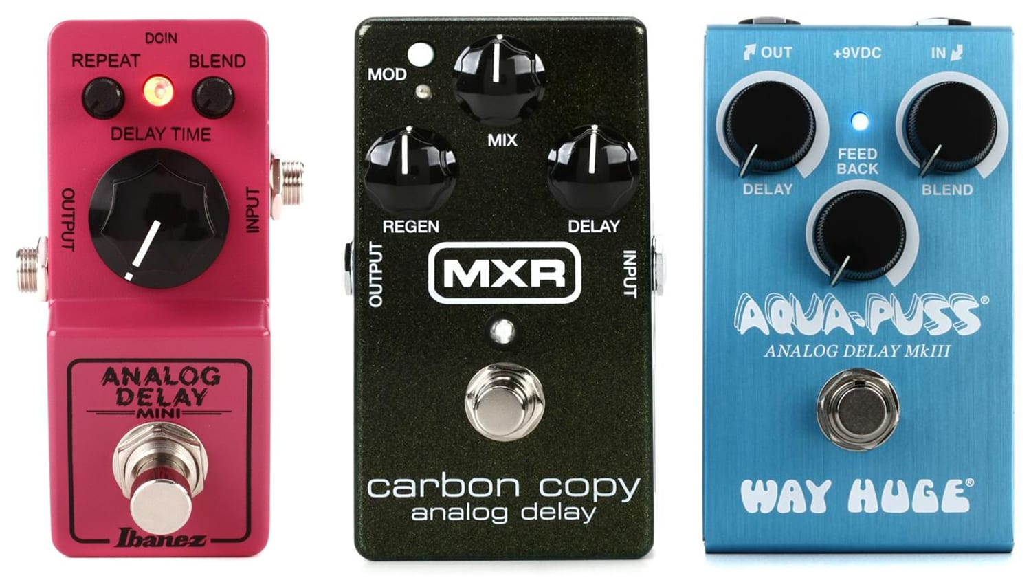 country delay pedals
