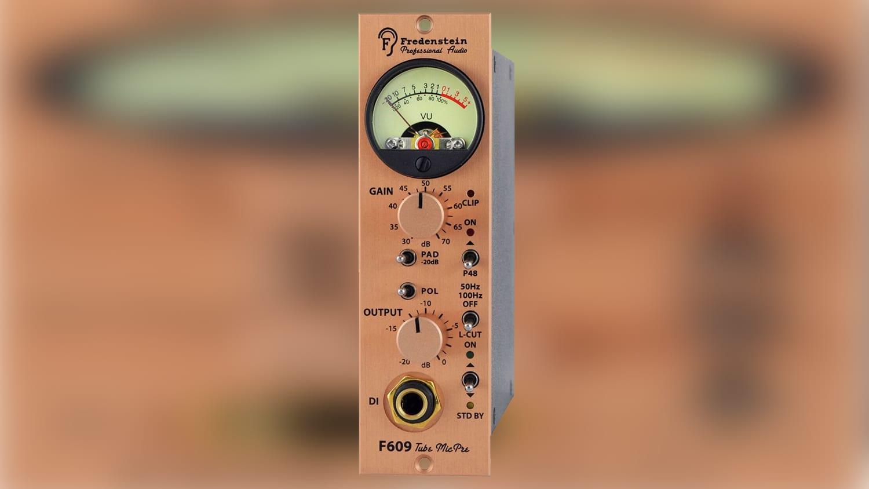 fredenstein audio f609 500 series preamp