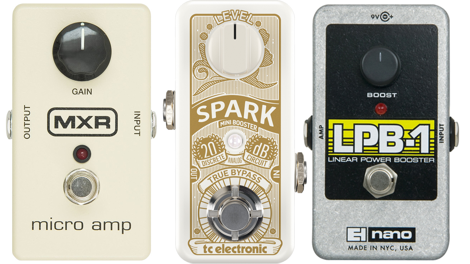 best blues boost pedals