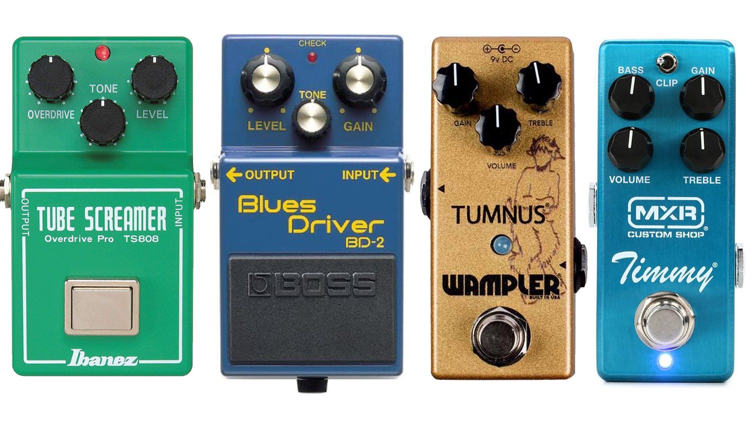 best blues overdrive pedals