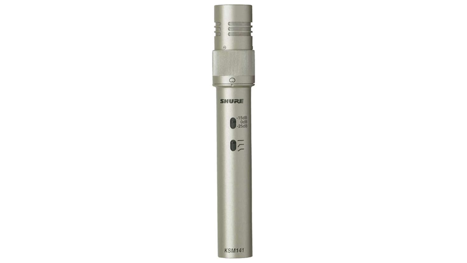 shure ksm141 small diaphragm condenser microphone