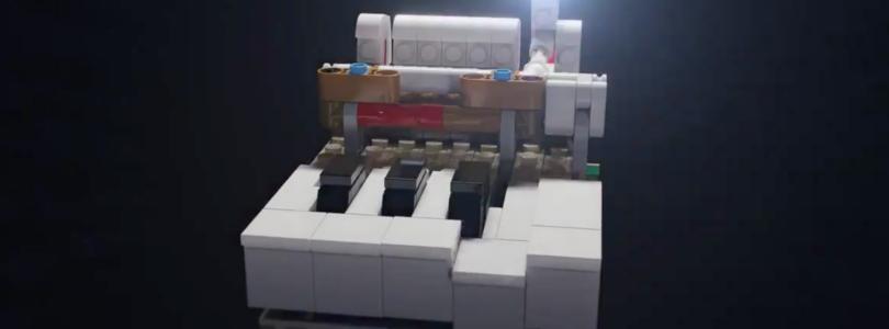 Lego Mini Grand Piano Build