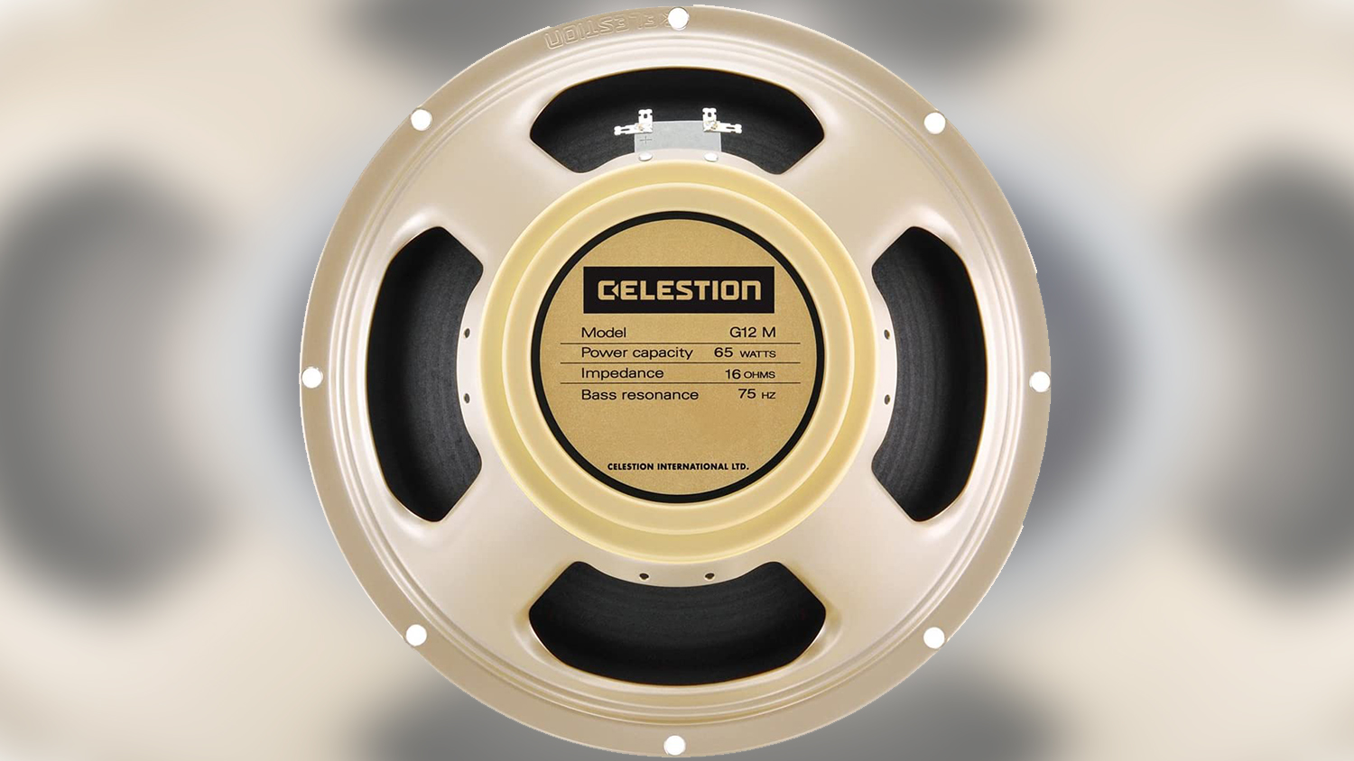 celestion g12h-75 creamback guitar speaker