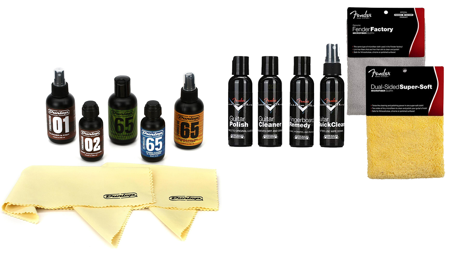 guitar cleaning kits