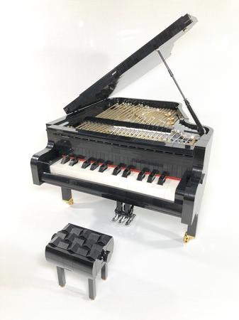 Donny Chen's LEGO Grand Piano Creation