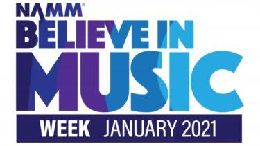 NAMM Believe In Music Week January 2021