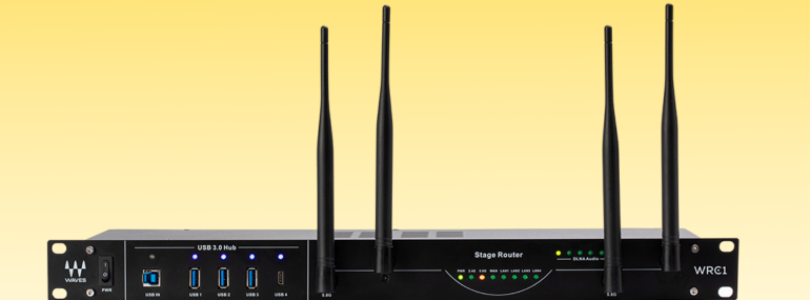 Waves Audio, known primarily for its excellence in software audio plugins, has a new product out. And it's a Wi-Fi router that costs $500.