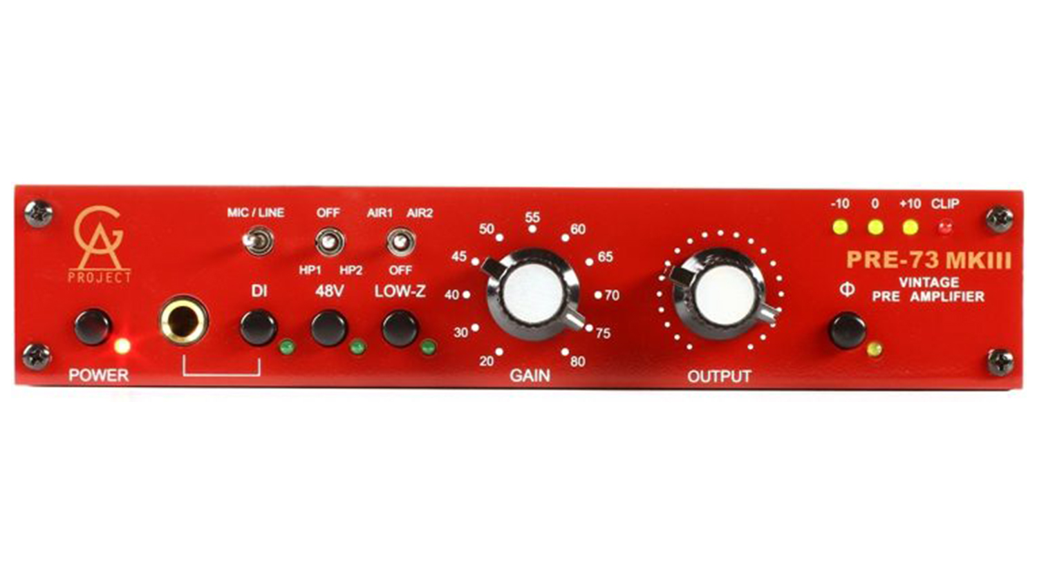 golden age project pre-73 mkiii preamp