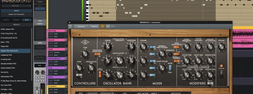 Universal Audio LUNA Version 1.1