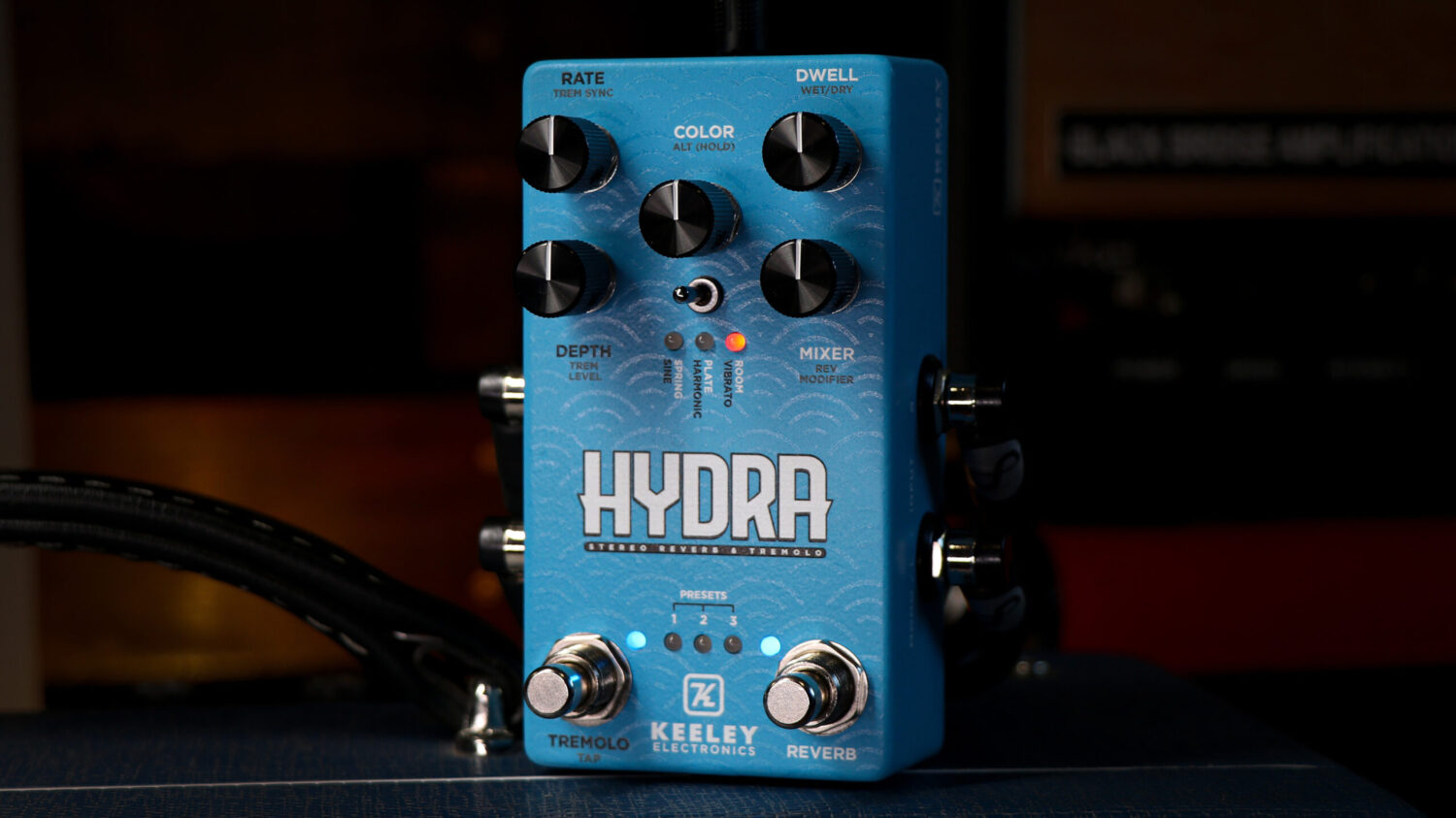 Keeley Electronics HYDRA Stereo Reverb & Tremolo