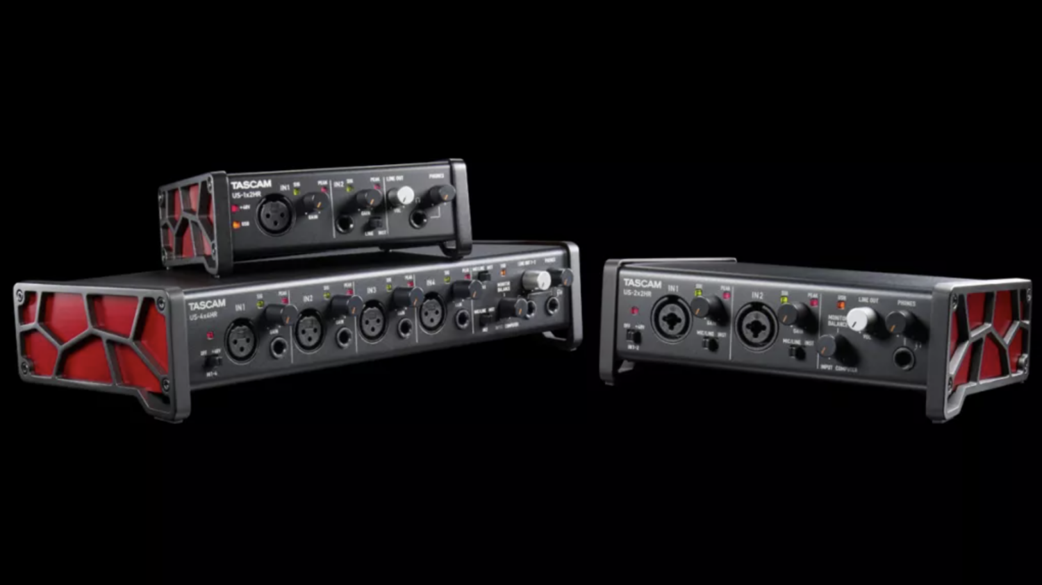 Tascam US-HR Interfaces
