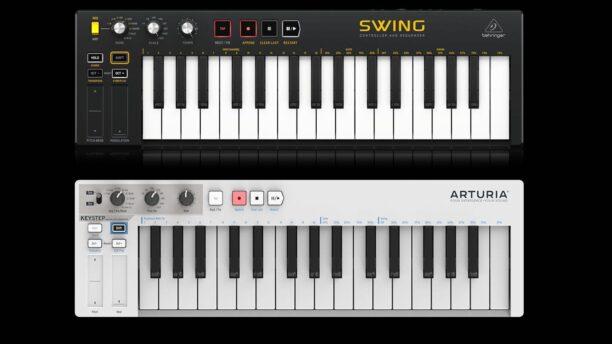 Behringer Swing vs. Arturia KeyStep Controllers
