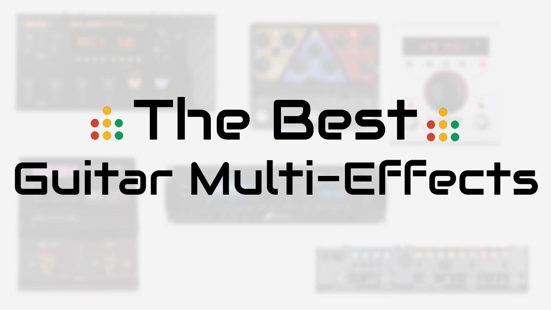 best guitar multi effects
