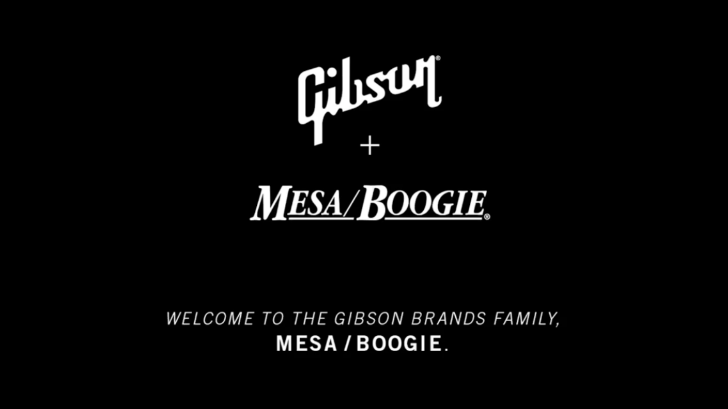 Gibson Acquires Mesa Boogie