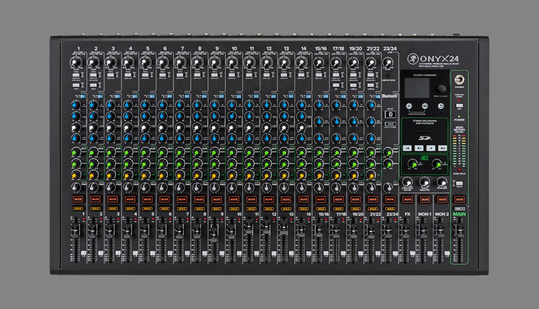 Mackie Onyx Audio Mixers